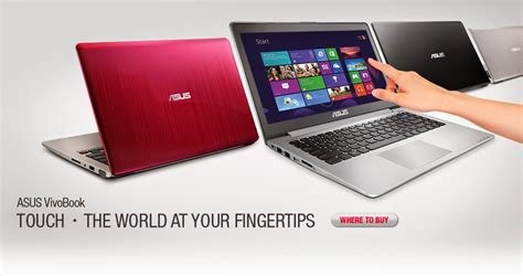 Notebook Asus Touchscreen Murah asus vivobook s200e laptop touchscreen murah ide gadget