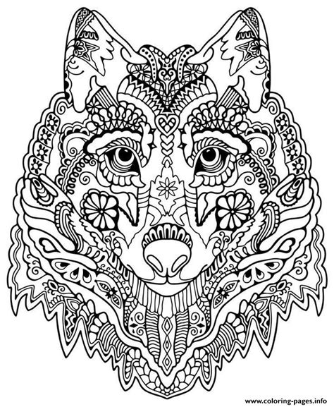 mandala coloring book set mandalas to print and color for adults wolf