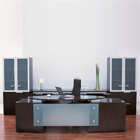Modern Desk For Home Office Executive Office Decor Interiordecodir