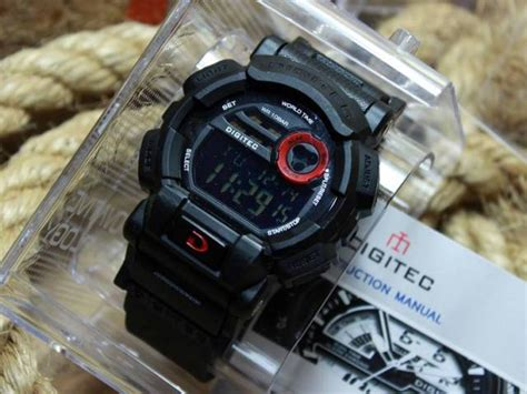 Digutec Dg 2079t Black List Gold jam tangan digitec dg 2079t original