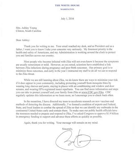 Asked and Answered: President Obama's Letter to a Mother
