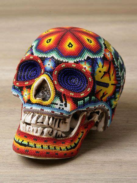 beaded skull bead sugar skull