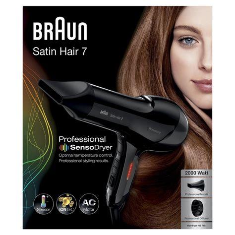 Braun Hair Dryer Hd785 braun satin hair 7 hd785 secador 2000w