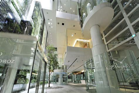 Residential Atrium Design nicolas g hayek center architect magazine shigeru ban