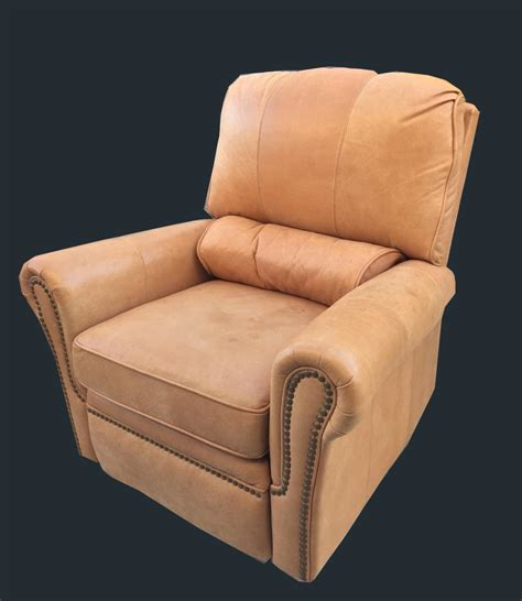 Barcalounger Swivel Recliner by Uhuru Furniture Collectibles Barcalounger Leather
