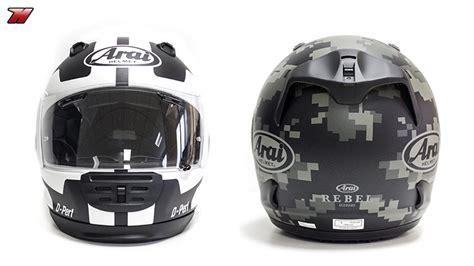 Arai Rebel: the helmet for non faired bikes   Motocard's blog