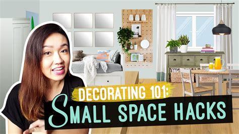 small space hacks tricks  bigger  space