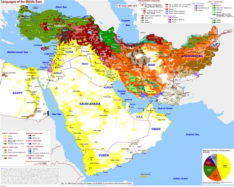 middle east map ethnic groups detailed language map of the middle east 7282 x 5829
