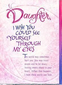 Words For Daughters 21st Birthday Card