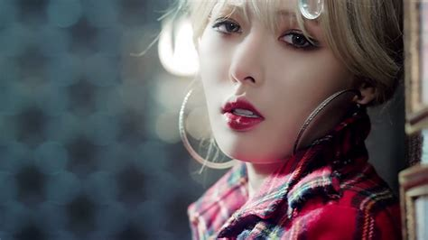 Eyeshadow Korea chalimi fithratu korean makeup trend trouble maker hyuna