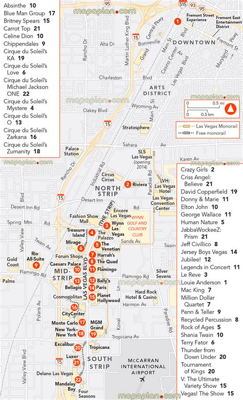 map of las vegas attractions maps update 14882105 vegas tourist attractions map las