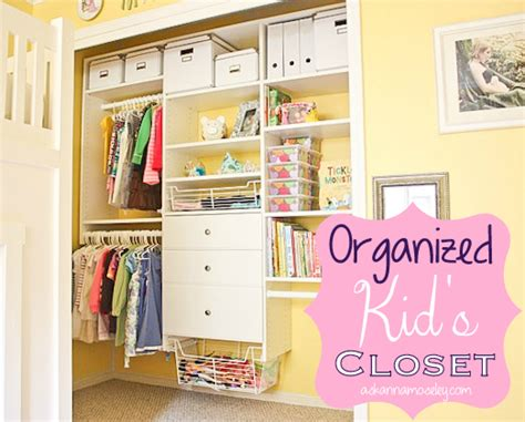 ideas to redesign kids closet to get its organizing kids kids closet organization tips home design ideas within