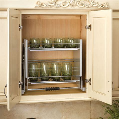rev a shelf quot premiere quot pull shelving system for kitchen wall cabinet kitchensource