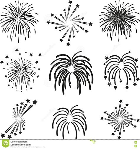 firework template vector 2013 happy new year fireworks background design