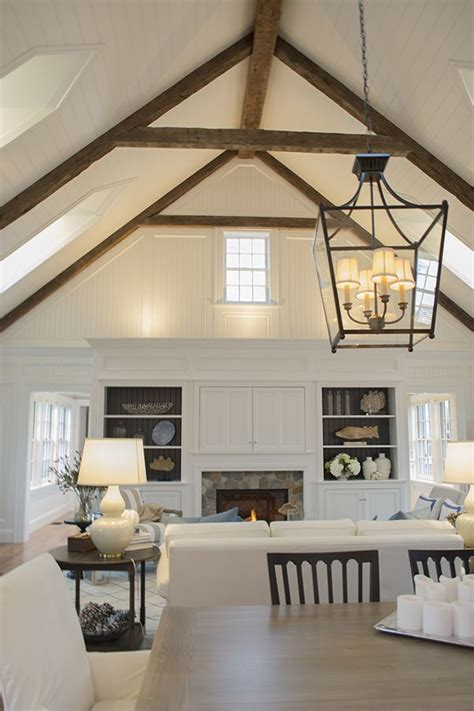 Beams Across Ceiling - the 25 best raked ceiling ideas on white