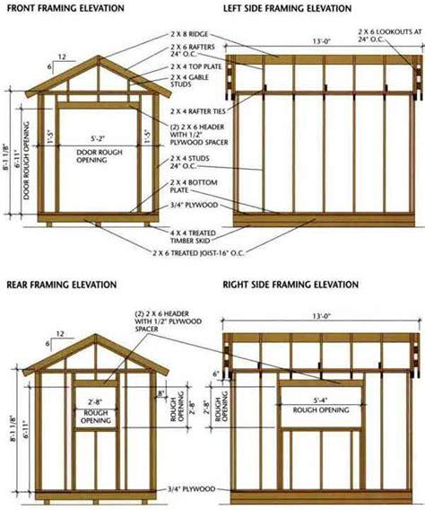 Wooden Shed Plans Uk