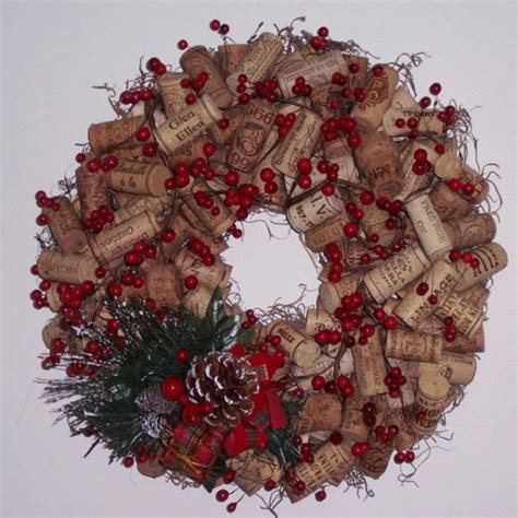how to create a recycled wine cork wreath corks make your own wine and tasting room