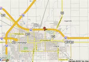 Champaign Il Zip Code Map by Champaign Urbana Map