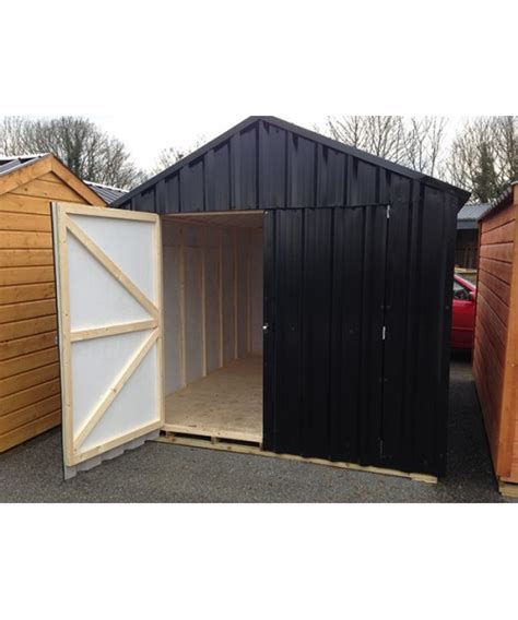 10 X 20 Sheds For Sale by 10ft X 20ft Black Steel Garden Shed Garden Sheds For Sale