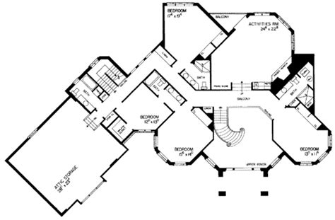 6000 sq ft house plans european style house plan 5 beds 7 baths 6000 sq ft plan 72 197