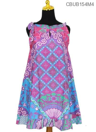 Dress Kipas dress batik cantik tali motif kipas dress murah