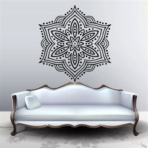 Indian Wall Decor by Wall Decal Decor Decals Sticker Snowflake Buddhism