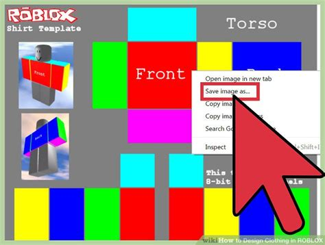 how to design a shirt roblox how to design clothing in roblox 6 steps with pictures