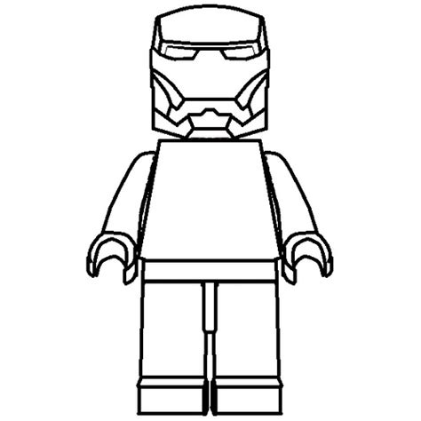 lego guy coloring pages how to draw lego iron man