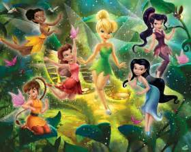 Cottage Style Magazine disney fairies by walltastic wallpaper direct
