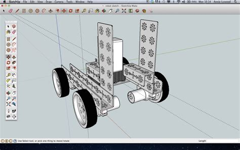 google sketchup robot tutorial 2eme s 233 rie de projets technomuzillac 3eme