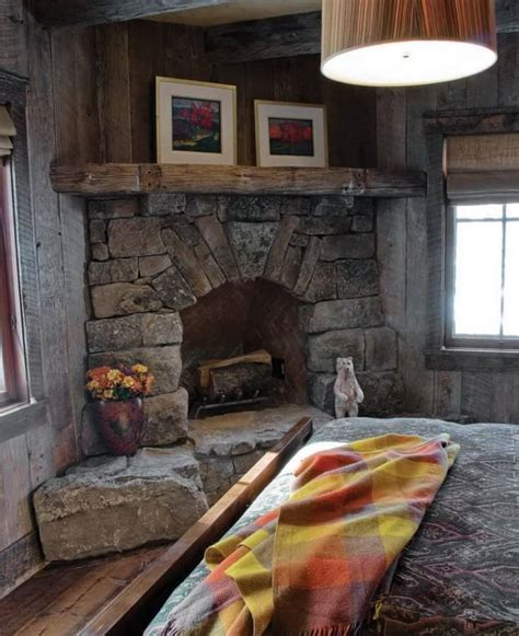rustic fireplace ideas 19 best corner fireplace ideas for your home