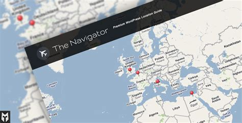 themes wordpress google maps 7 best selling map based premium wordpress themes