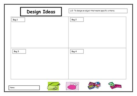 design criteria ks2 d t bags by oliviahunt teaching resources tes