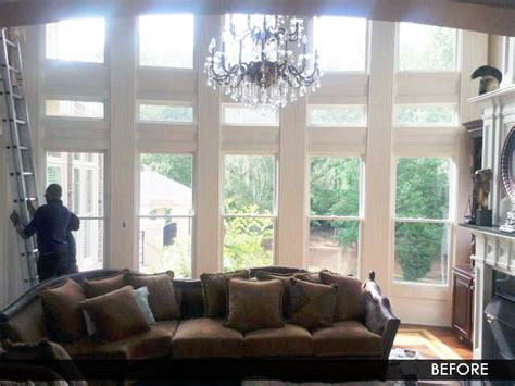 Great Room Windows Inspiration Great Room Window Treatments Bridal Shower Www Divasthathack