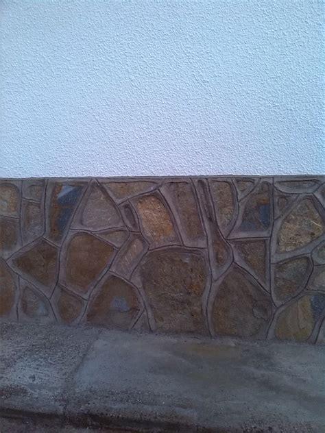 zocalo piedras foto z 243 calo de piedra de construcciones valverde