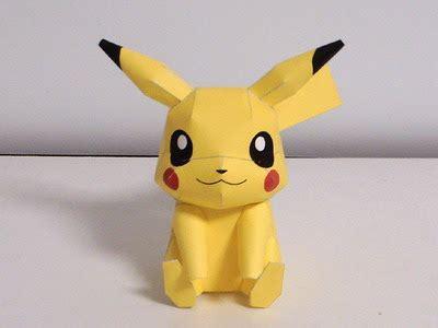 Pikachu Origami - easy origami for easy origami