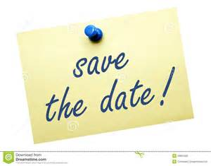 save the date clipart calendar