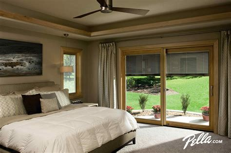 Bedroom Sliding Doors by Pella Sliding Doors Bedroom With Bedroom
