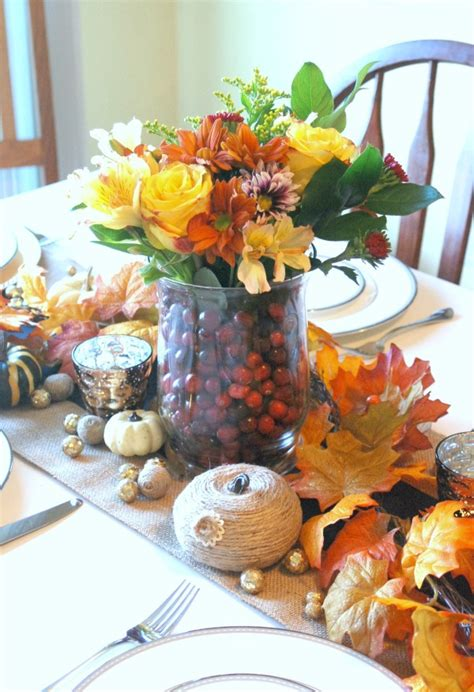 quick easy thanksgiving tablescape endlessly inspired