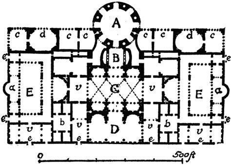 baths of caracalla floor plan therm 230 of caracalla plan of central block clipart etc