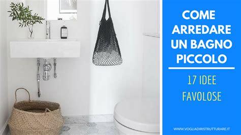 arredare bagno piccolo come arredare un bagno piccolo 17 idee favolose