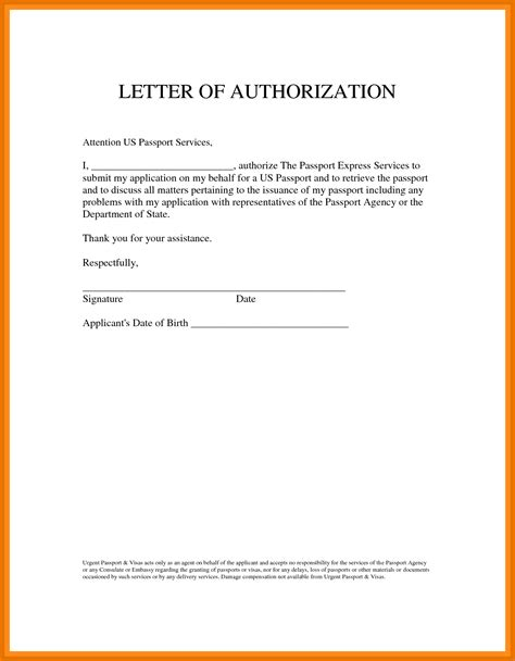 sle of authorization letter to up my passport 12 authorization letter to up passport tech