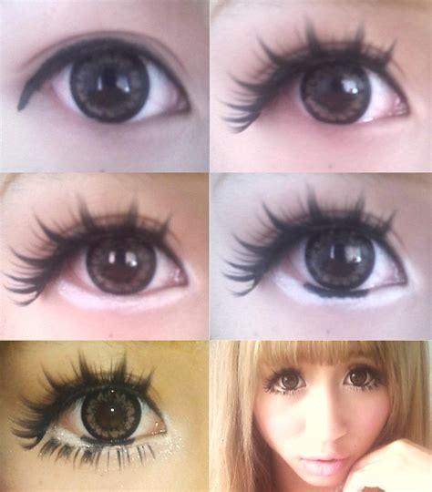 gyaru makeup ariska pue s blog gyaru eyes makeup
