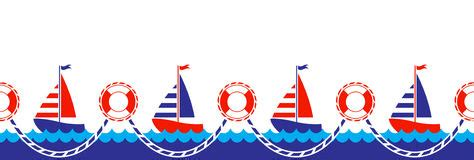 boat without mask clipart nautical background stock vector illustration of summer