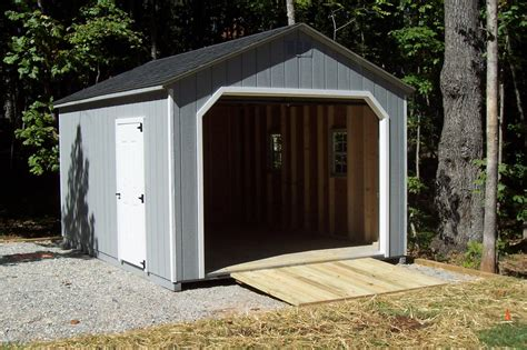 12 X16 Shed Plans by Garage Shed Plans 12x16