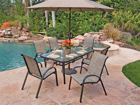 Outdoor Patio Dining Sets On Sale Cape Cod Sling Aluminum Pc Dining S On Patio Dining Sets Sale Outdoor For Sling Set Wal