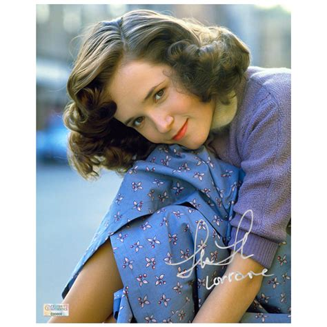 actress thompson in back to the future lea thompson autographed back to the future 8x10 portrait