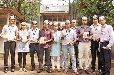 Itm Kharghar Mba by Current News Management Students Sold 2500 Gandhi