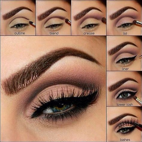 simple eyeshadow ideas step by step musely