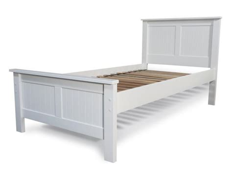 King Single Bed Headboards by Lilydale White King Single Bed Living Elements